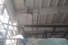 Покрасить потолок промышленные альпинисты
