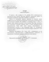 <span>Председатель Деревянчицкого исполкома</span><br/>С.А. Безносик